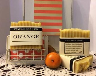 Orange Hancrafted Soap