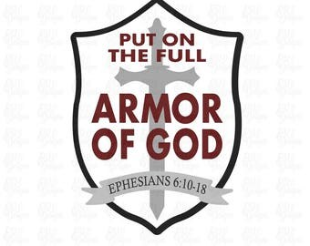 Armor of god | Etsy