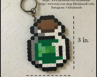 Green Potion Keychain