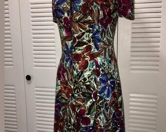 90's Lace Up Back Dress