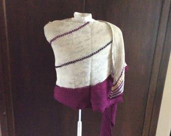 Merino Sparkle Pure joy shawl /wrap/scarf
