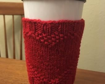 Heart Mug Sweater with Reusable Travel Mug