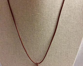 Copper wire wrapped agate