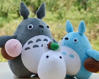 DIY Kit Totoro / Fabric Doll Animal / Textile Doll