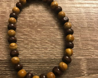Tiger Jasper and Eco Friendly wood