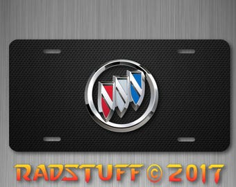 "Buick Emblem Novelty License Plate Aluminum 6""x12"""
