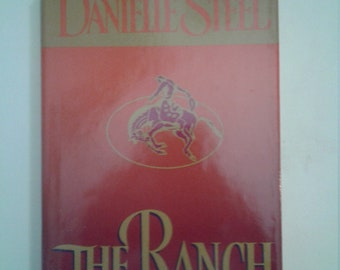 Best Selling Novel   Danielle Steel   The Ranch   Hardback Used Book