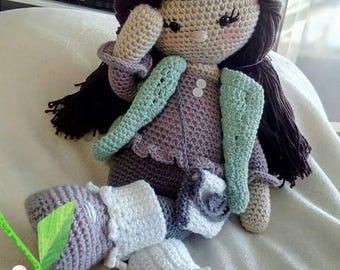 Crochet doll Anna