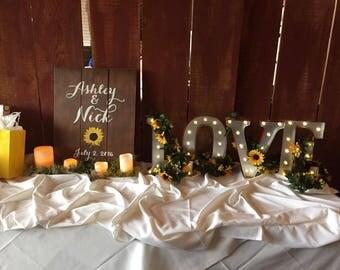 Wedding Decor | Wall Decor