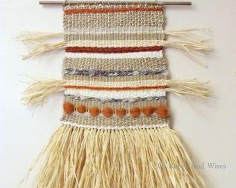 "Tapestry weaving ""Wilderness"""