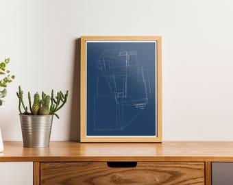 Minimal Architecture Prints, Architecture Prints, Minimal Architecture Printable, Minimal Architecture Art, Architecture Print, Minimal Art