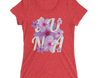Aloha Luna Women's Triblend Tee by Robots Without Borders