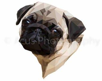 Personalised Pet Portrait - A3