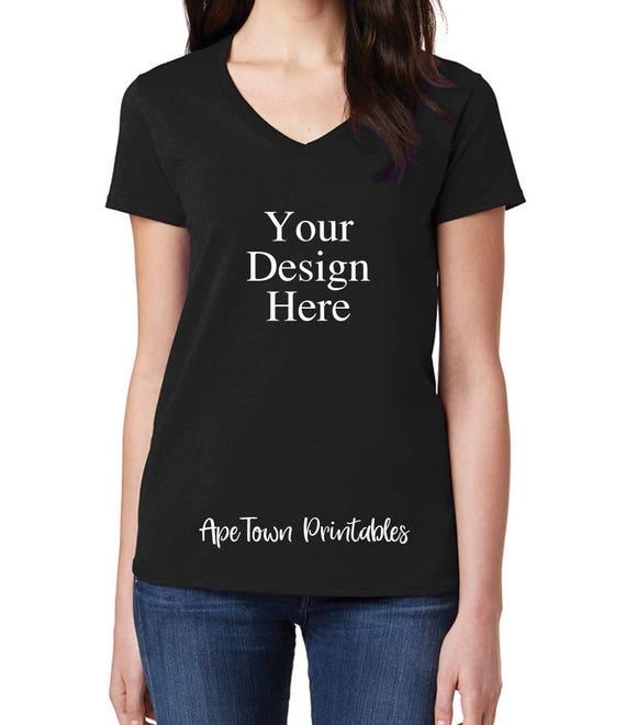 blank black tshirt mockup digital clothing mock up