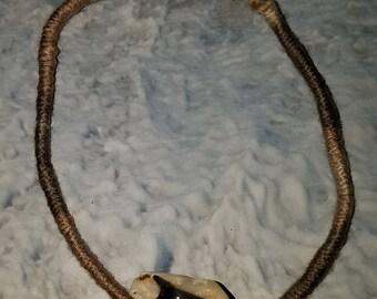 Fossil Shark Tooth & Coral Anklet/Bracelet