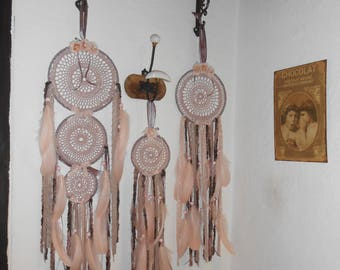 """Dream catcher from the series """"Rose powder"""""""