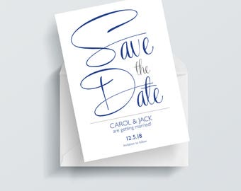 Save the Date, Save the date cards, wedding save the date, personalised save the date cards, personal save the date cards, date saved card