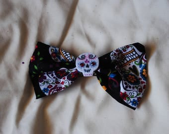 Dia de los Muertos (Day of the Dead) Bow