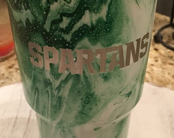 30oz Michigan State Spartans stainless 30oz