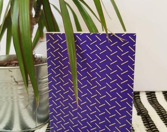 A6 Notebook / Pocket Notebook / Abstract Dash / Stationary