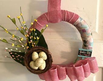 Easter Wreath, Spring Wreath, Home Decor, Wall Decor