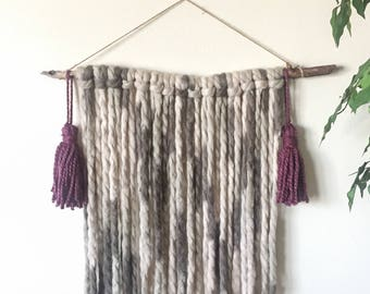 Highlands: Yarn Wall Hanging