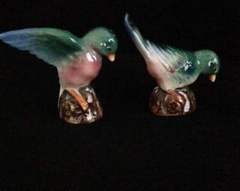 Vintage Bird Salt and Pepper Shakers - Japan
