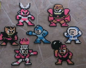 Mega Man 1 Boss Set
