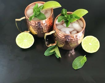 Copper Mule - Hand-hammered