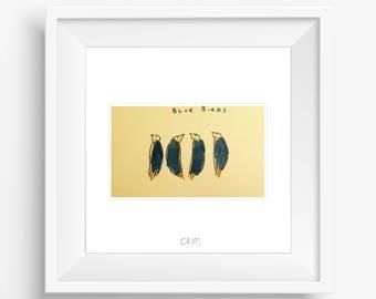 CRUM | Blue Birds
