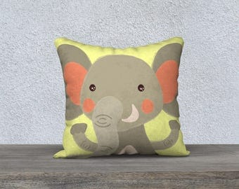 "Kids decorative cushion cover ""is"" pillowcase pillow gift, baby-nursery children decor animal"