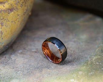 FREE Shipping, Wood Wedding Band, Wooden Ring, Wood Ring, Wood Wedding Ring