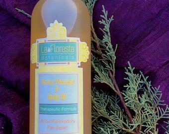 Arnica Massage And Body Oil-Therapeutic Formula