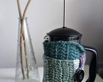 Handmade Crochet Cafetiere Cosy
