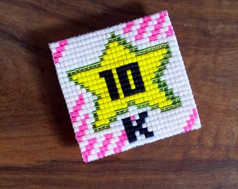 10K - The only square Miyuki beads