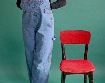 Denim overalls/ Winnie the Pooh/ workwear /COM17-8