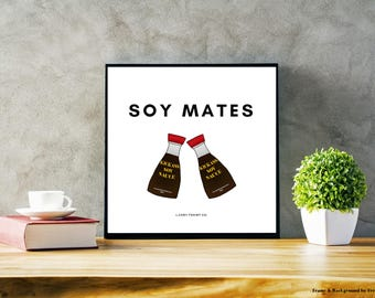 Soy Mates Soy Sauce Poster