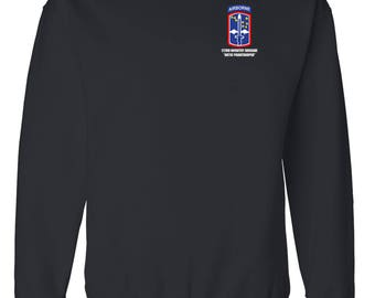 172nd Infantry Brigade (ABN) Embroidered Sweatshirt-7164
