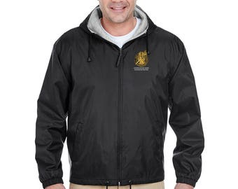 US Army Master Recruiter Embroidered Fleece-Lined Hooded Jacket-7754