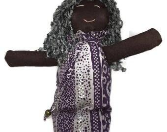 Ragdoll Ethnic Black Black/Grey Hair