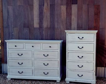 Custom Made 5 Drawer Chest of Drawers
