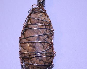 Picture Jasper Wire Cage