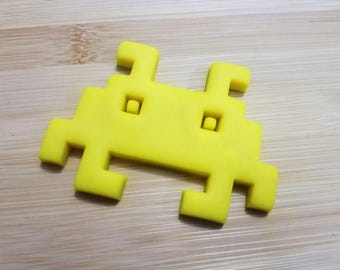 Space Invader Classic 8-Bit 70's/80's Video Game Cookie/Biscuit/Fondant Cutter
