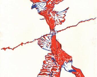 Patriotism zine/poster (11x17)