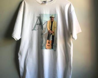 Alan Jackson T-shirt in White - L