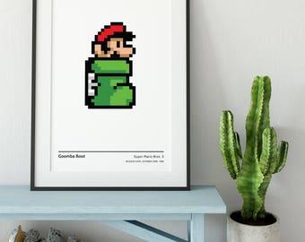 Mario - Goomba Boot - High Quality Artwork