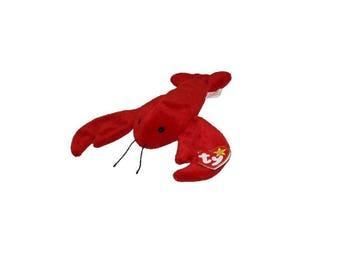 Ty Beanie Babies Pinchers the Lobster Gen 4 1993
