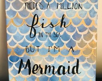 I'm a Mermaid Wall Art