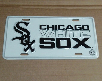 Chicago White Sox License Plate