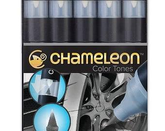 Chameleon Pens-Set of 5-gray tones